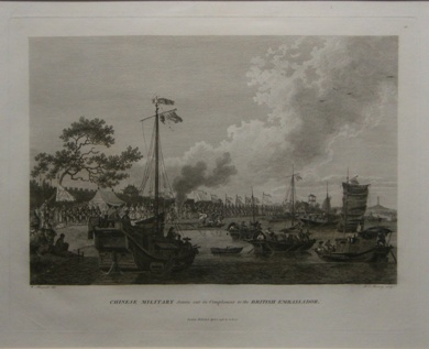 Print of Chinese Military Post